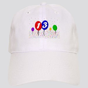 13th Birthday Cap