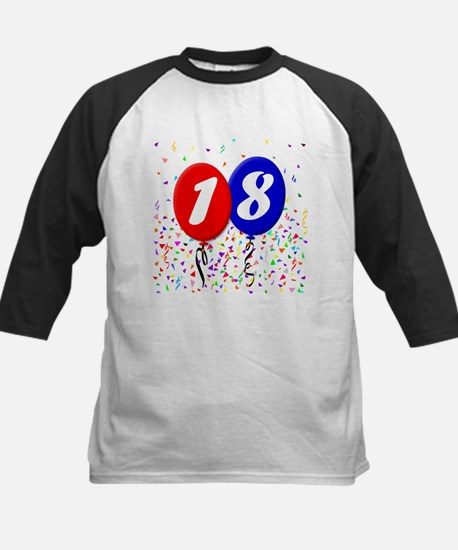18th Birthday Kids Baseball Jersey