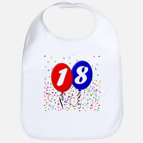 18th Birthday Bib