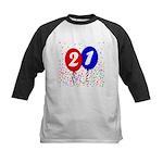 21st Birthday Kids Baseball Jersey