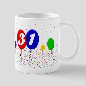 31st Birthday Mug