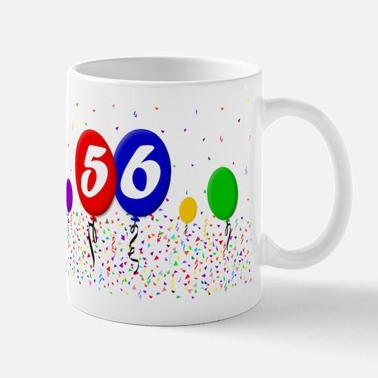56th Birthday Mug