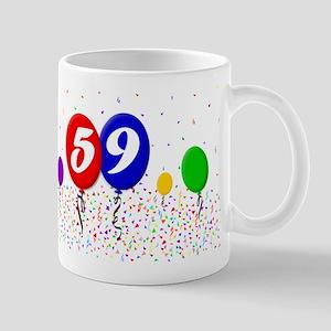 59th Birthday Mug