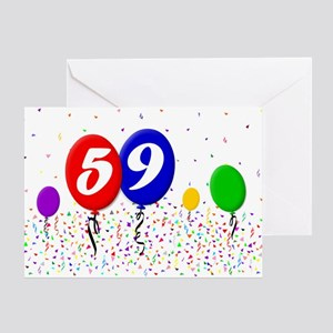 59th Birthday Greeting Card