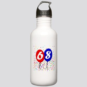68th Birthday Stainless Water Bottle 1.0L
