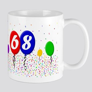 68th Birthday Mug