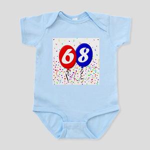 68th Birthday Infant Bodysuit
