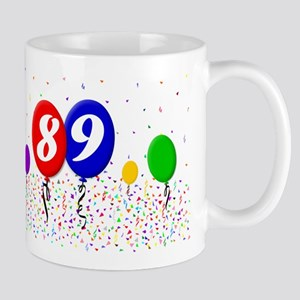 89th Birthday Mug