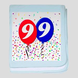 99th Birthday baby blanket