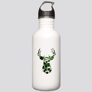 BUCK IN CAMO Stainless Water Bottle 1.0L