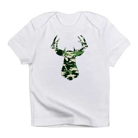 BUCK IN CAMO Infant T-Shirt