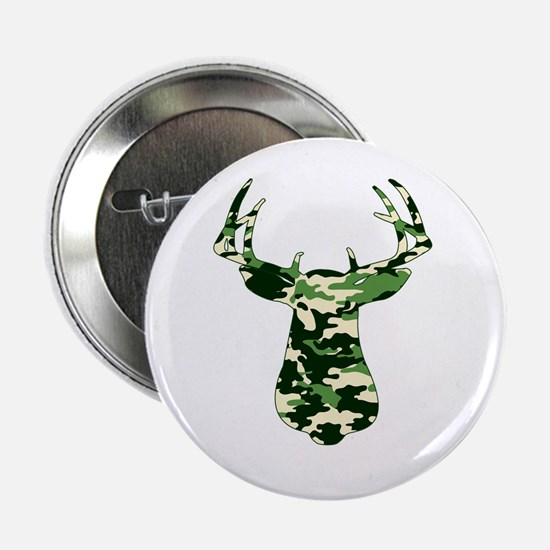 "BUCK IN CAMO 2.25"" Button"