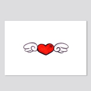Angel Heart Postcards (Package of 8)