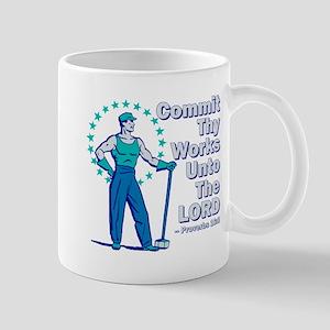 Commit Thy Works Mug