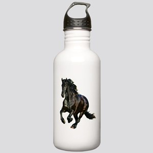 Black Stallion Horse Stainless Water Bottle 1.0L