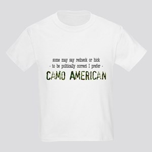 Camo American Kids Hunting Light T-Shirt