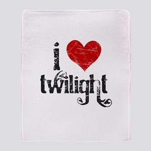 I Heart Twilight Throw Blanket