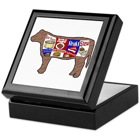 Beef Guide Keepsake Box