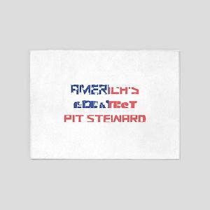 America's Greatest Pit Steward 5'x7'Area Rug