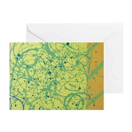 Tumble Attack (1) Greeting Cards (Pk of 20)