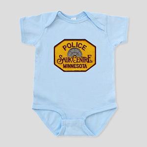 Sauk Centre Police Infant Bodysuit