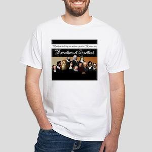 Preachers of Scotland - White T-Shirt