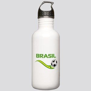 Soccer BRASIL Stainless Water Bottle 1.0L