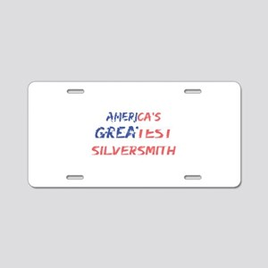 America's Greatest Silversm Aluminum License Plate