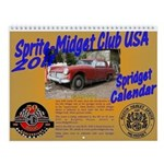 Small Sprite-Midget Club USA 2011 Calendar!