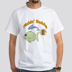 Fishing Buddy White T-Shirt