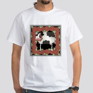 Rose The Cow White T-Shirt