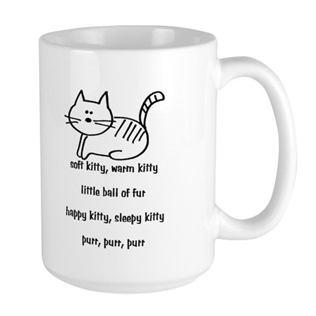 Soft Kitty Large Mug