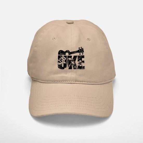 The Uke Baseball Baseball Cap