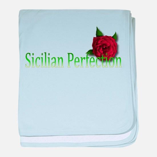 Sicilian Perfection baby blanket