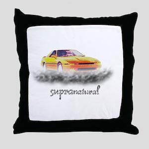 SupraNatural Throw Pillow