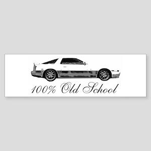 100 % Old School MKIII Sticker (Bumper)