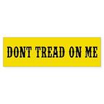Don't Tread on Me Sticker (Bumper 50 pk)