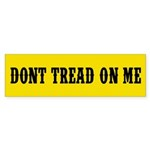 Don't Tread on Me Sticker (Bumper 10 pk)
