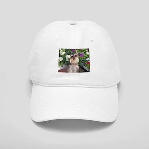 Mediatating in the Garden Cap