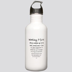 Working 9 to 5 Stainless Water Bottle 1.0L