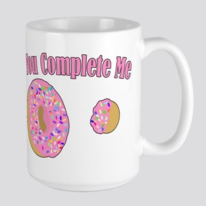 You Complete Me Large Mug