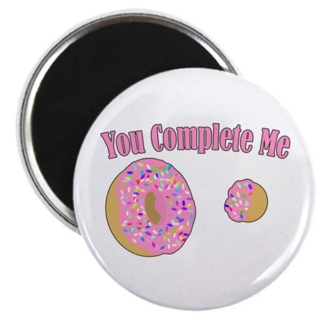 """You Complete Me 2.25"""" Magnet (10 pack)"""