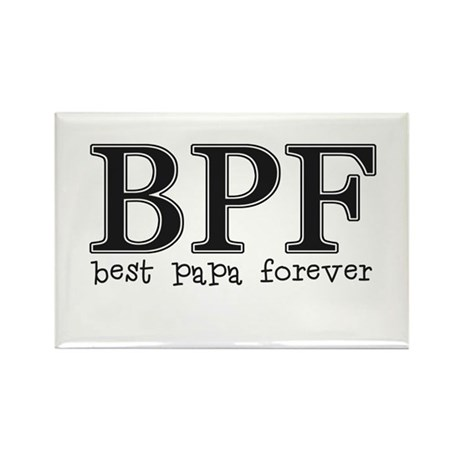 Best Papa Forever Rectangle Magnet (100 pack)