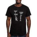 Sudo Men's Fitted T-Shirt (dark)