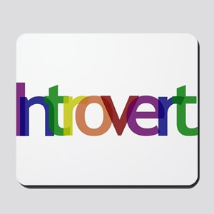 Introvert Colors Mousepad