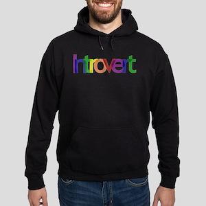 Introvert Colors Hoodie (dark)