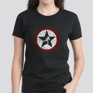 ROLLER DERBY JAMMER STAR Women's Dark T-Shirt
