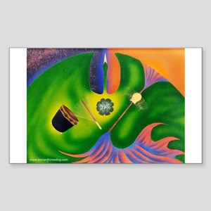 Sacred Instruments Sticker (Rectangle)