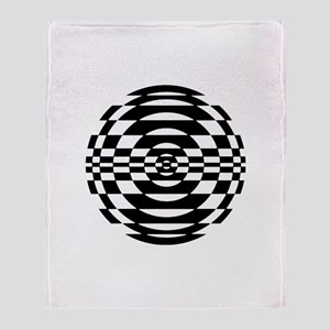 Op - Art Throw Blanket