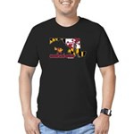 ILY Maryland Men's Fitted T-Shirt (dark)